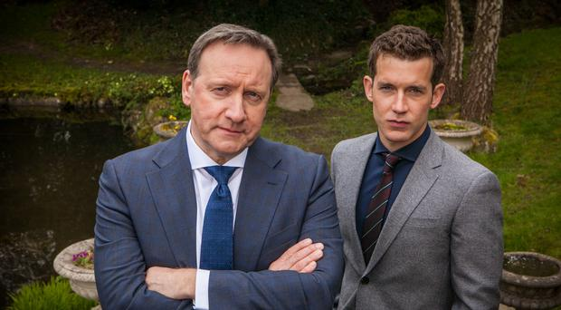DCI John Barnaby (left, played by Neil Dudgeon) and DS Jamie Winter (played by Nick Hendrix) (ITV)