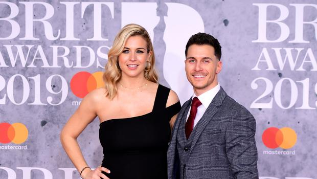 Gemma Atkinson and Gorka Marquez will dance together in the Strictly Christmas Special (Ian West/PA)