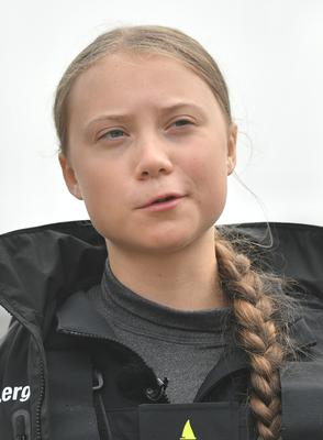 The broadcaster described Greta Thunberg as 'extremely well informed' (Ben Birchall/PA)