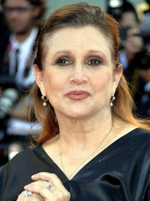 Carrie Fisher has confirmed her return to the Star Wars franchise (Rex)
