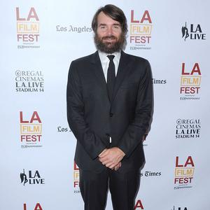 Will Forte has grown a bushy beard for his latest role (Rex)