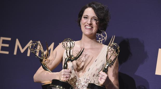 A stunned Phoebe Waller-Bridge said 'this is getting ridiculous' as Fleabag capped an all-conquering night at the Emmys (Jordan Strauss/Invision/AP)