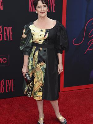Fiona Shaw was among the stars at the Killing Eve season two premiere (Richard Shotwell/Invision/AP)