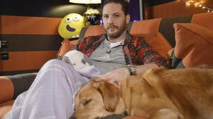 Tom Hardy with Woody