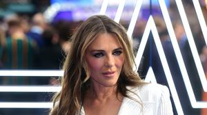 Elizabeth Hurley is living with family during lockdown (Ian West/PA)