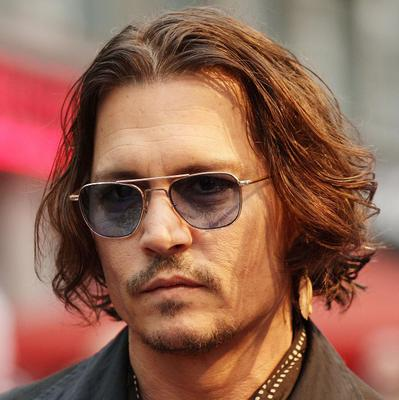 Johnny Depp stars in the Pirates of the Caribbean franchise