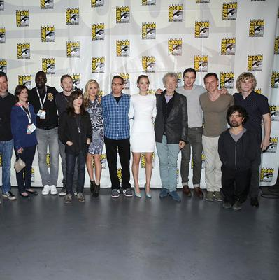 X-Men director Bryan Singer gave fans at Comic Con a first look at X-Men: Days of Future Past, as many of the cast gathered (Eric Charbonneau/Invision for 20th Century Fox/AP)