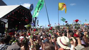 Glastonbury had been due to mark its 50th anniversary in June (Yui Mok/PA)