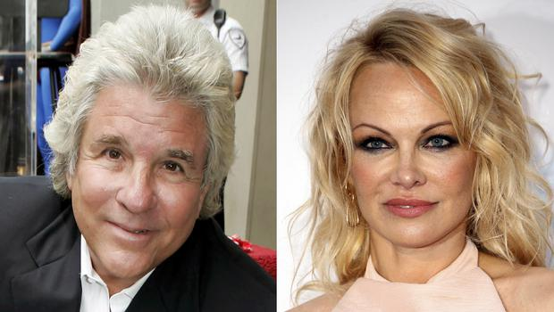 Jon Peters and Pamela Anderson (AP)