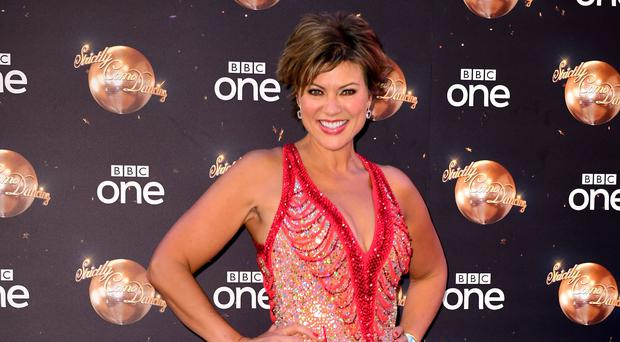 Kate Silverton on Strictly Come Dancing (PA)
