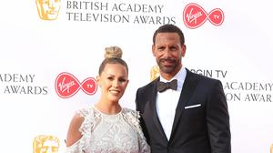 Rio Ferdinand and Kate Wright starred in the documentary Rio And Kate: Becoming A Stepfamily (Isabel Infantes/PA)
