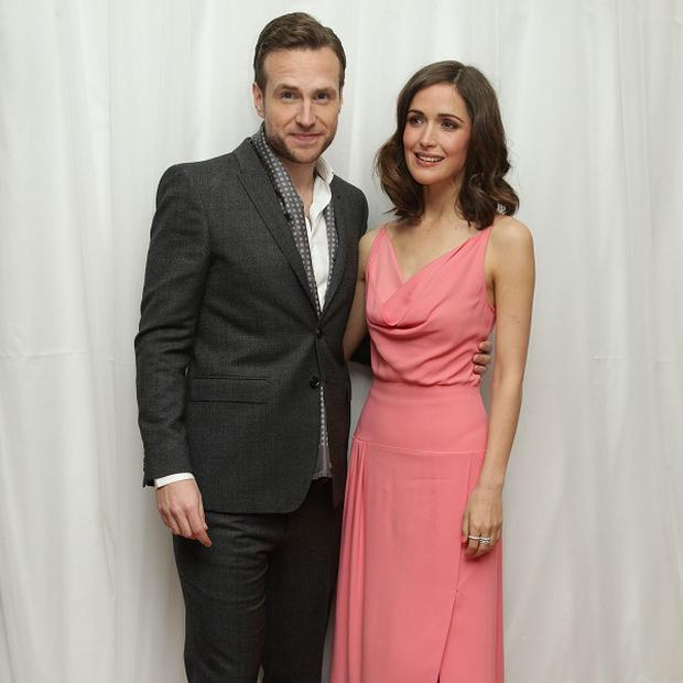 Rafe Spall and Rose Byrne star as a newly married couple in I Give It A Year