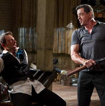 Christian Slater loved working with Sylvester Stallone on Bullet To The Head