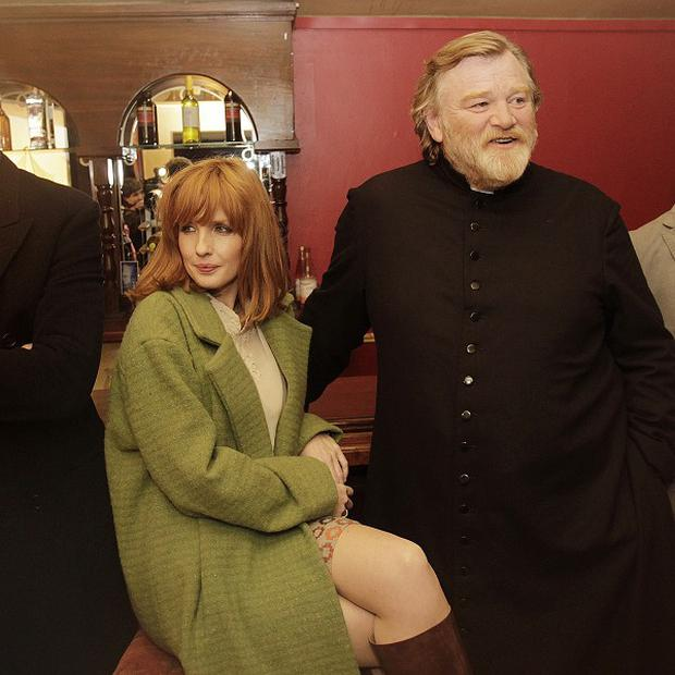 Kelly Reilly formed a bond with Brendan Gleeson while they were making Calvary