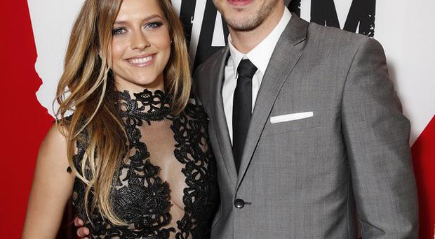 Teresa Palmer and Nicholas Hoult attends the LA Premiere of