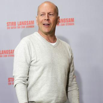 Bruce Willis thinks there is a new generation of action movie stars in the UK