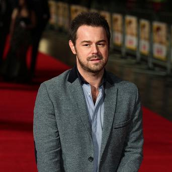 Danny Dyer arriving for the UK film premiere of Run For Your Wife