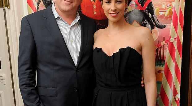 John C Reilly and Sarah Silverman provide the voices for Wreck It Ralph