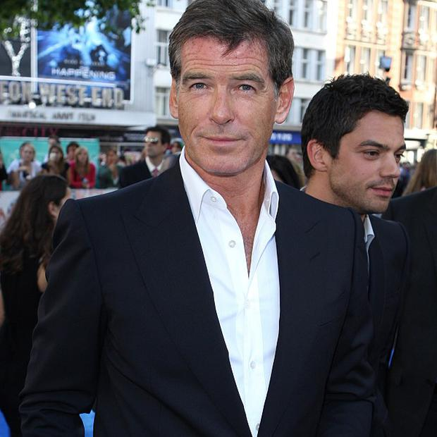 Pierce Brosnan hinted that he might not take part in the Bond tribute