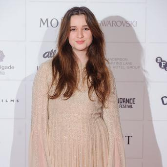 Alice Englert said she and her co-star bonded over cooking