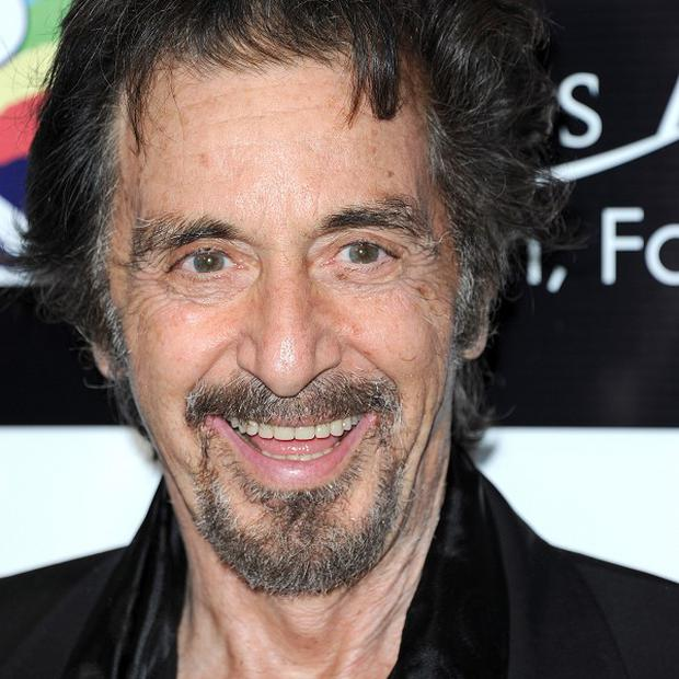 Al Pacino was honoured with the Jack Valenti LA Italia Legend Award