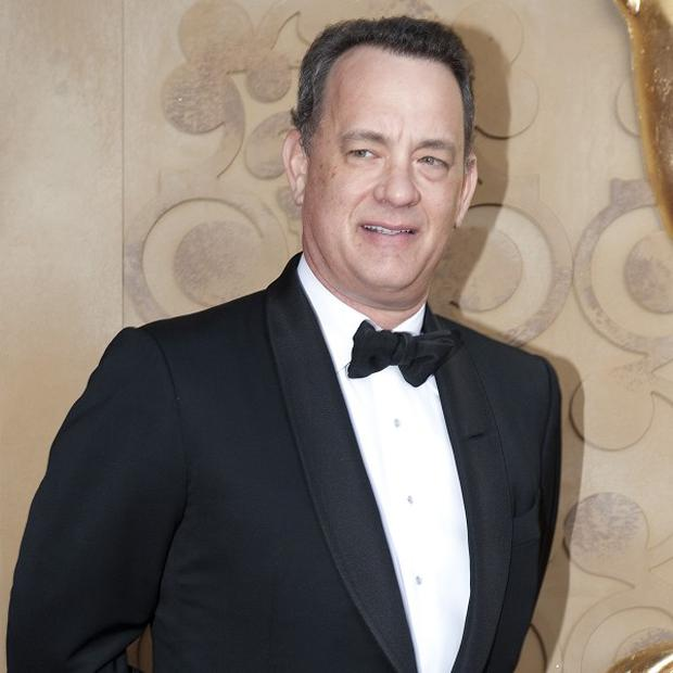 Tom Hanks voiced the role of Woody in the Toy Story films