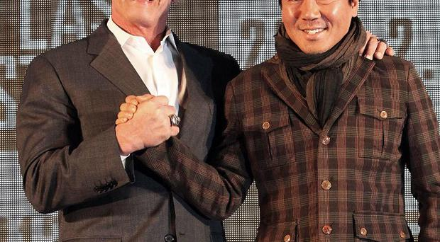 Arnold Schwarzenegger plays a sheriff in director Kim Jee-woon's film