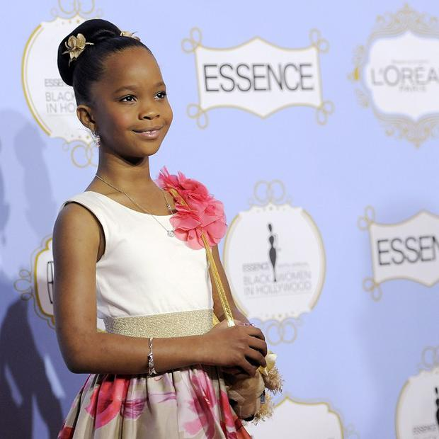 Quvenzhane Wallis was honoured at the Black Women in Hollywood Luncheon
