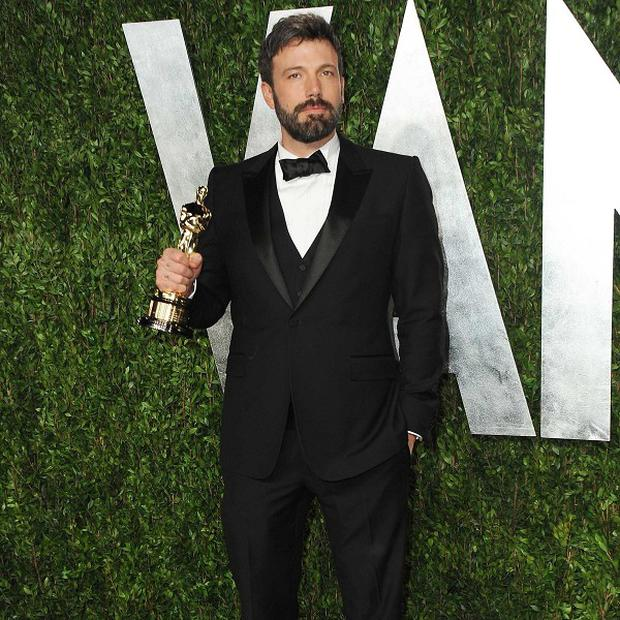 Ben Affleck won the best film Oscar for Argo