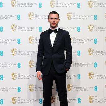 Nicholas Hoult in the press room for the 2013 British Academy Film Awards at the Royal Opera House, Bow Street, London. PRESS ASSOCIATION Photo. Picture date: Sunday February 10, 2013. See PA story SHOWBIZ Baftas. Photo credit should read: Ian West/PA Wire