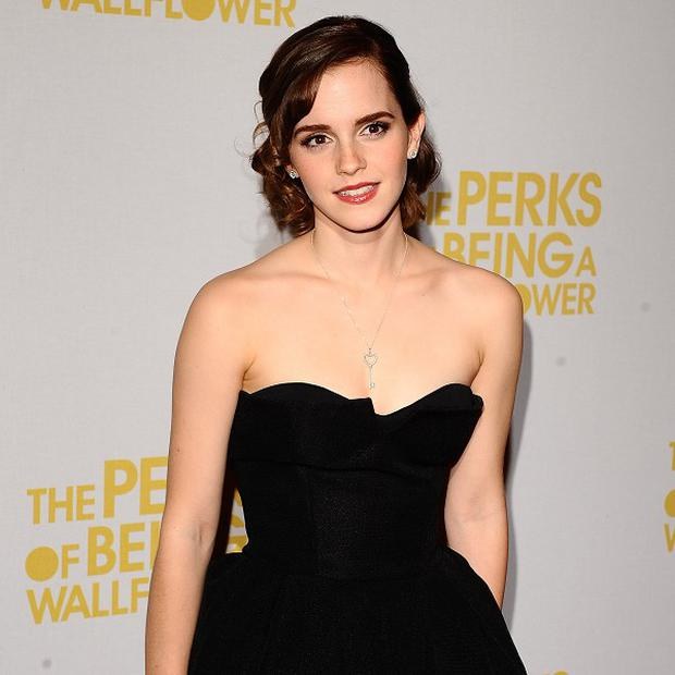 Emma Watson arrives at the UK Gala Screening of The Perks of Being a Wallflower at The May Fair Hotel, London. PRESS ASSOCIATION Photo. Picture date: Wednesday September 26, 2012. See PA story SHOWBIZ Watson. Photo credit should read: Ian West/PA Wire