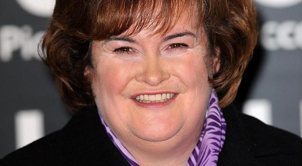 Susan Boyle said making the film is a great experience