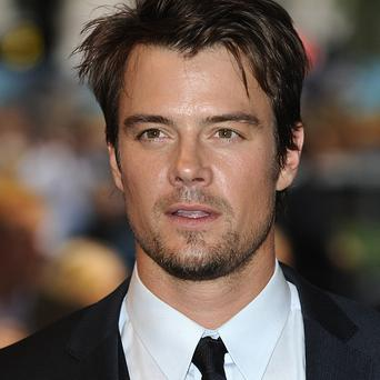 Josh Duhamel sported a mohawk for a new film role