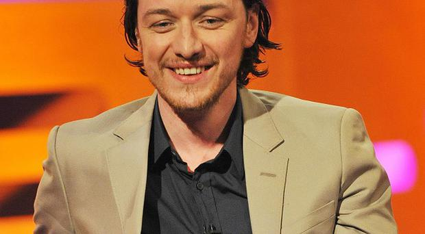 James McAvoy is playing Macbeth on the West End stage
