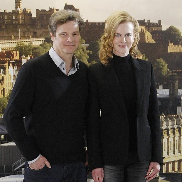 Colin Firth and Nicole Kidman are playing a married couple for the second time