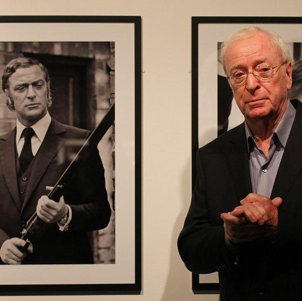 Sir Michael Caine attended the opening of a new exhibition celebrating his career and his 80th birthday