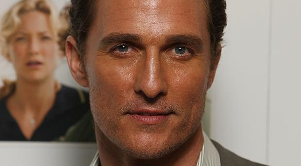 Matthew McConaughey had to learn to deal with his overnight fame