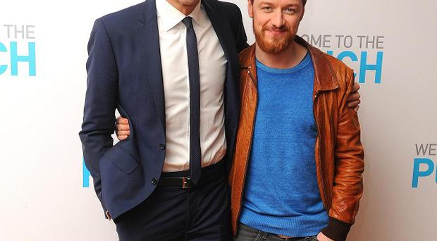 Mark Strong and James McAvoy star in Welcome To The Punch