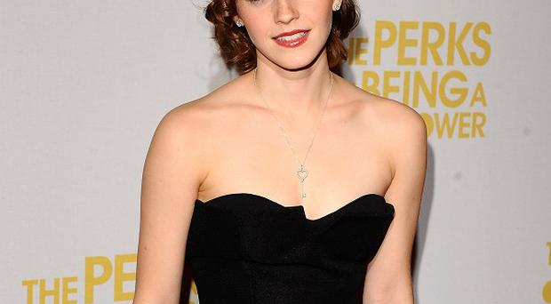 Emma Watson says rumours of her taking a role in Fifty Shades Of Grey are wide of the mark