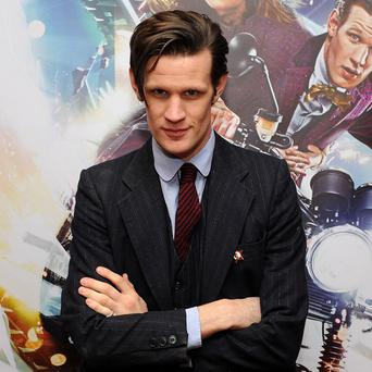 Matt Smith likes the idea of being a Bond villain