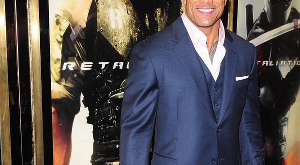 Dwayne 'The Rock' Johnson is pals with Sylvester Stallone and Jason Statham