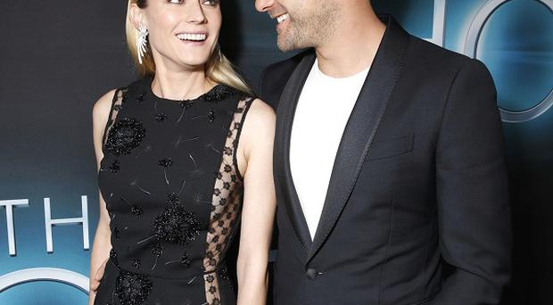 Diane Kruger and Joshua Jackson arrive for the premiere of The Host in LA