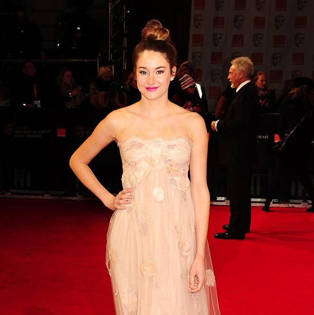 Shailene Woodley made her movie debut in The Descendants