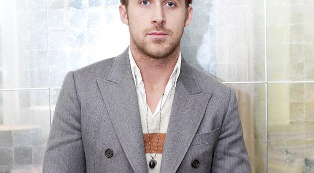 Ryan Gosling said there is a lot of pressure being the lead in a film