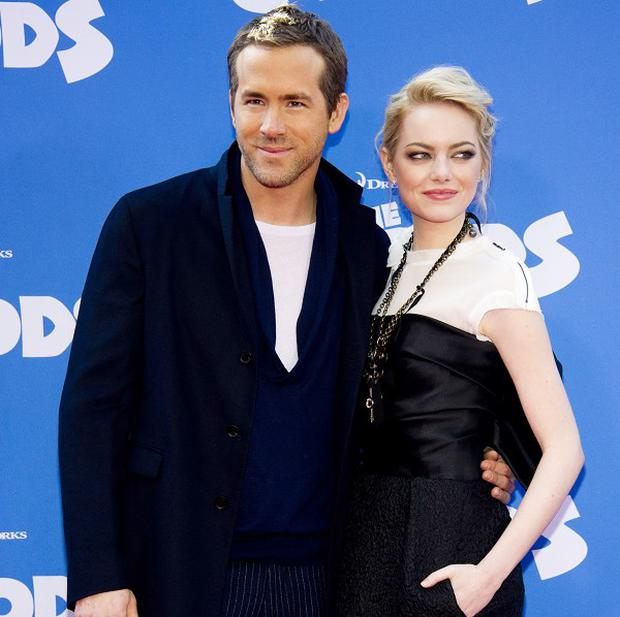 Ryan Reynolds and Emma Stone admitted they cringed when they heard themselves in The Croods