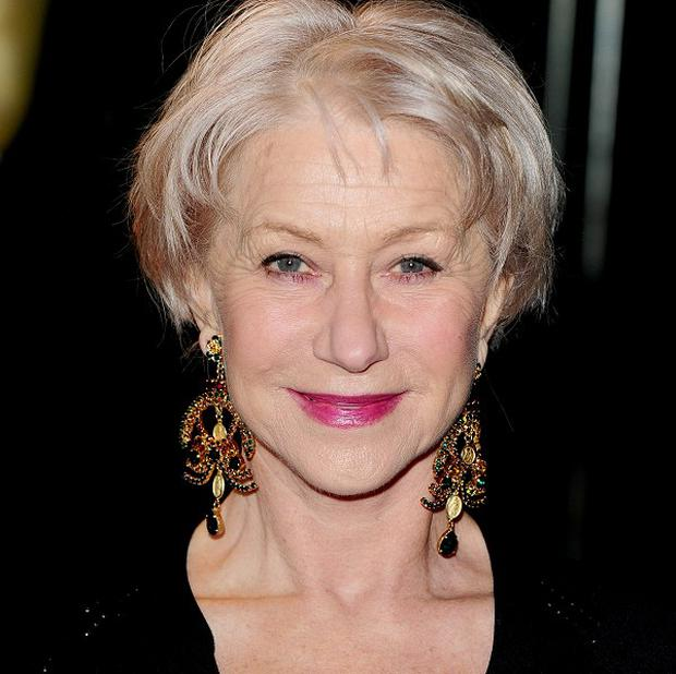 Dame Helen Mirren has been nominated for an Olivier award for playing The Queen on stage
