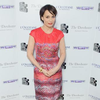 Kristin Scott Thomas says she likes her acting career to be varied