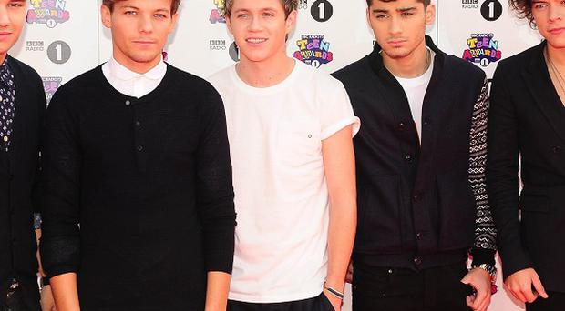 One Direction have apparently ditched burgers while they are touring
