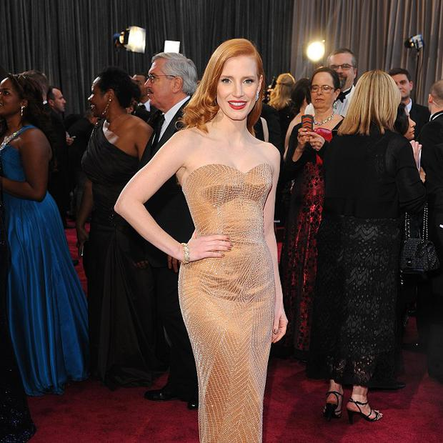 Jessica Chastain is being linked to Crimson Peak