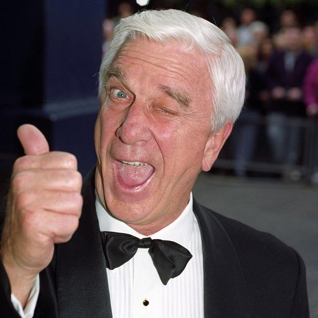 Leslie Nielsen starred in the Naked Gun franchise, which might be rebooted